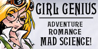 Girl Genius -- Adventure, Romance, Mad Science!